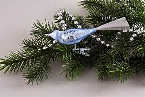 Weihnachtskugeln Aus Lauscha : 1 vogel in eis hellblau christbaumkugeln ~ Orissabook.com Haus und Dekorationen