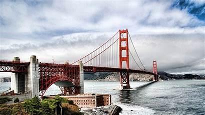 Francisco San Wallpapers Bridge Golden Gate Themes