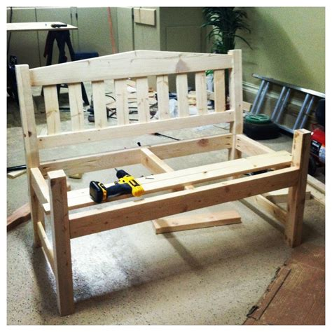 ana white garden bench diy projects