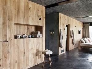 les 25 meilleures idees de la categorie parement bois sur With crepire un mur interieur
