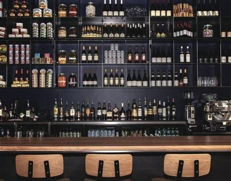 Bar Shelves by Wonderful Wall Bar Shelves 1 Industrial Restaurant Bar