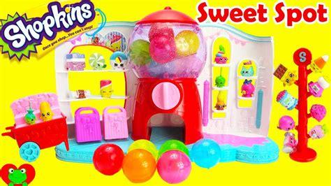 Shopkins Season 4 Sweet Spot Gumball Machine Playset