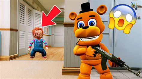 Can Adventure Freddy Hide From Evil Doll Chucky? (gta 5