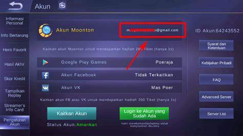 cara membuat akun mobile legend cara buat akun moonton untuk mobile legends ml ehcrodeh