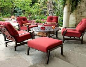 red color cushions for outdoor furniture patio furniture