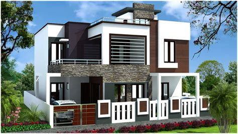 bungalow floor plan نمای ساختمان 2 طبقه با انواع طراحی جدید و مدرن