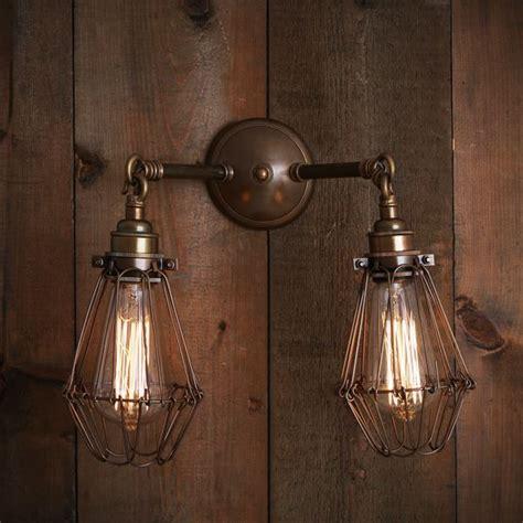 mullan rigo double cage wall light