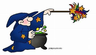 Magical Clipart Magic Clip Spell Magician Halloween