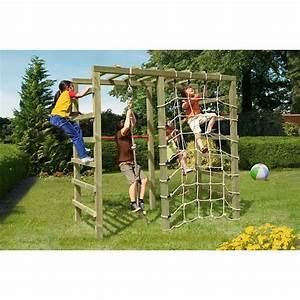Klettergerüst Garten Günstig : kletterger st spielger st holz mit turnreck kletternetz ~ Whattoseeinmadrid.com Haus und Dekorationen