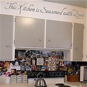 art wall decor kitchen wall quotes kitchen wallies With what kind of paint to use on kitchen cabinets for designer wall art stickers