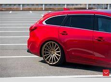 Mazda 6 Kombi 20 Zoll Vossen VFS2 & VFS1 Alufelgen Tuning