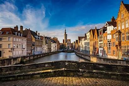 Bruges Belgium Wallpapers Van Jan Bridge Background