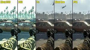 Call Of Duty Modern Warfare Remastered PS4 Vs Pc Vs Xbox