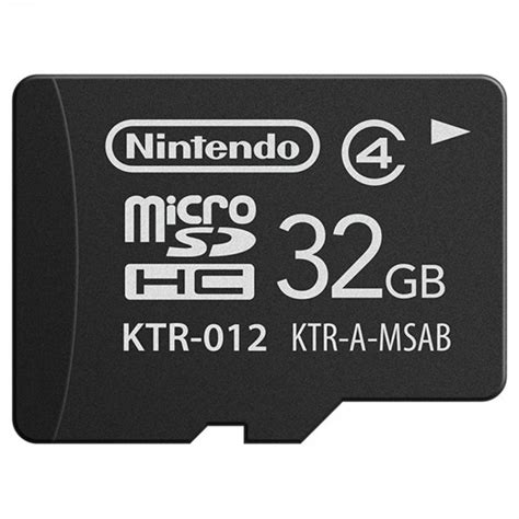 Sd memory card reader socket for nintendo 3ds 3ds ll & 3ds xl (2012 models only), not fit for new 3ds or new 3ds xl. Nintendo Micro SDHC Memory Card 32GB New 3DS - Nin-Nin-Game.com