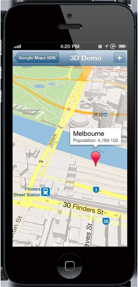 maps for iphone brings own maps app to ios software itnews