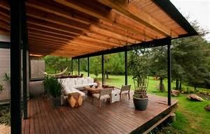 20, Beautiful, Backyard, Wooden, Patio, Ideas