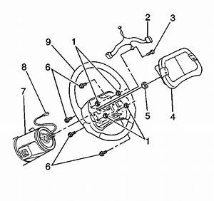 Repair Instructions - Horn Switch Replacement