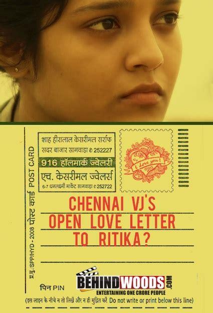 chennai vjs open love letter  ritika singh