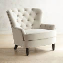 eliza cream upholstered armchair pier 1 imports