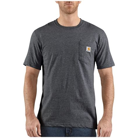 men s carhartt 174 contractor s work pocket t shirt 282638 t shirts at sportsman s guide