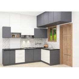 kitchen laminates color combination best 57 l shaped modular kitchen designs images on 5302