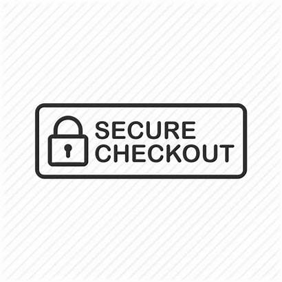 Checkout Secure Safe Icon Security Lock Protection