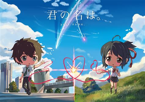 Anime Your Name Kimi No Na Wa Link 2016 Random Thoughts Kimi No Na Wa Your Name Wallpaper Hd Free