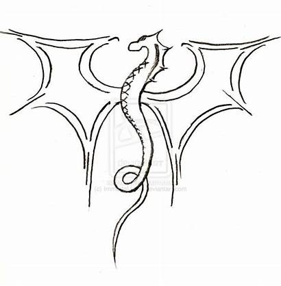 Easy Cool Dragon Draw Drawings Drawing Simple