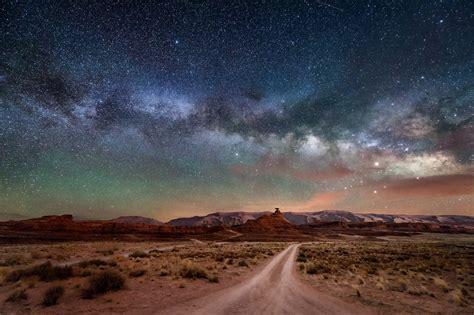 Starry Sky Milky Way Stars Night Wallpaper