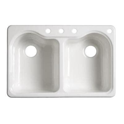 porcelain kitchen sinks kohler kitchen sinks hartland self cast iron 1590