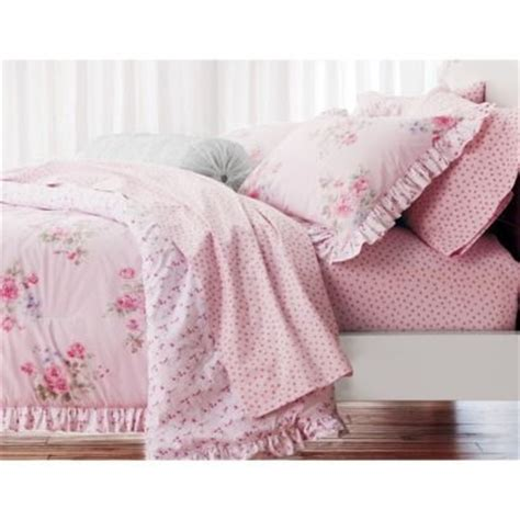 shabby chic winter bedding simply shabby chic 174 misty rose comforter pink big girl room pinterest shabby comforter