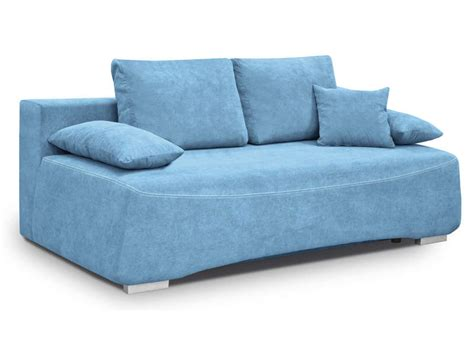 canap bleu conforama canapé lit 3 places alvaro coloris bleu vente de