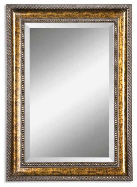 Uttermost Bathroom Mirrors by Uttermost Sinatra Vanity Mirror Gold Traditional