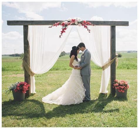 how to diy your wedding altar aisle