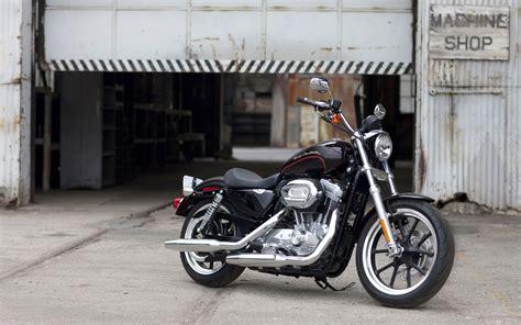 Black Harley-davidson Sportster Wallpaper
