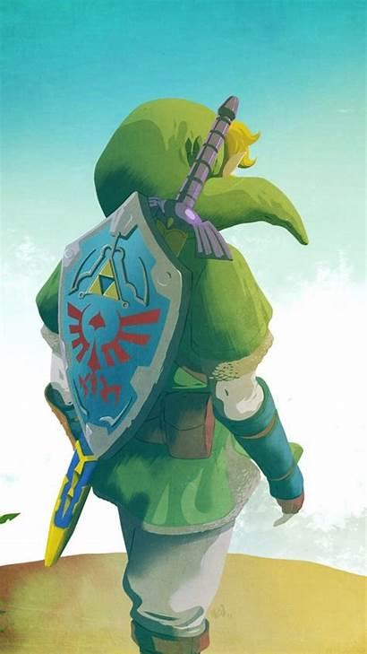 Zelda Link Iphone Legend Android Wallpapers 4k