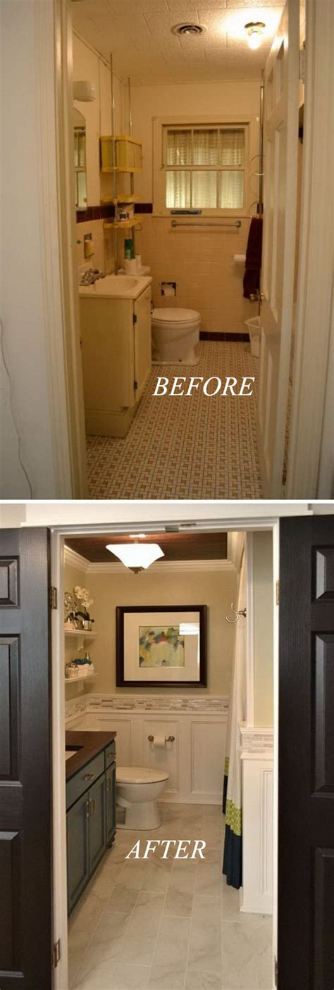 ideas for small bathrooms makeover 33 inspirational small bathroom remodel before and after