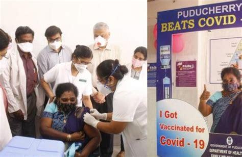 LG Tamilisai says no COVID-19 vaccine shortage in ...