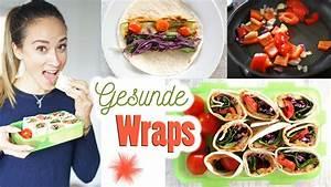 Salatbox Zum Mitnehmen : wraps selber machen mittagessen zum mitnehmen gesund ~ A.2002-acura-tl-radio.info Haus und Dekorationen
