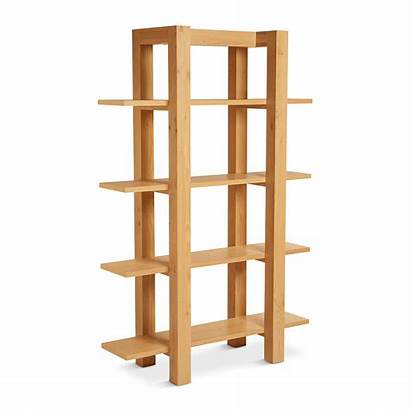 Bookshelf Wooden Lukas Bookshelves Open Shelf Edit