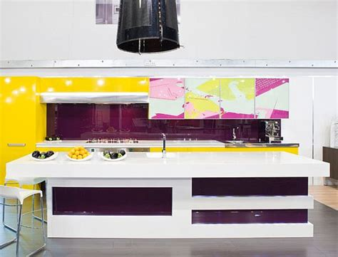 yellow and purple kitchen purple kitchen designs pictures and inspiration