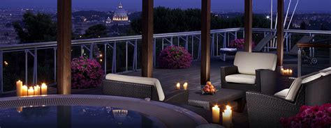 terrazza cavalieri hotel a 5 stelle a roma rome cavalieri waldorf astoria