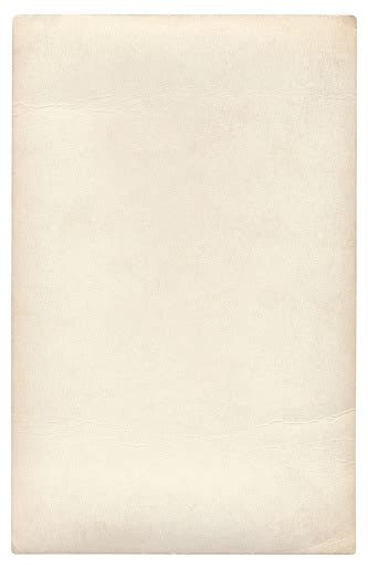 Blank Paper Isolated Stock Photo - Download Image Now - iStock