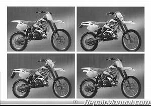 1996 Ktm 250 300 360 Motocross Enduro Motorcycle Owners Handbook