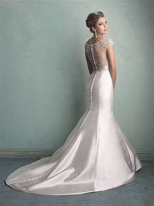 cap sleeves beaded mermaid satin bridal wedding dresses With beaded wedding dresses with sleeves
