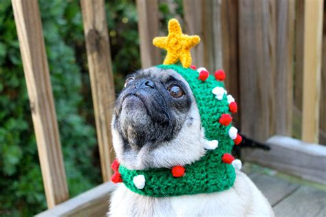 dog christmas hat hat oh tree made to order