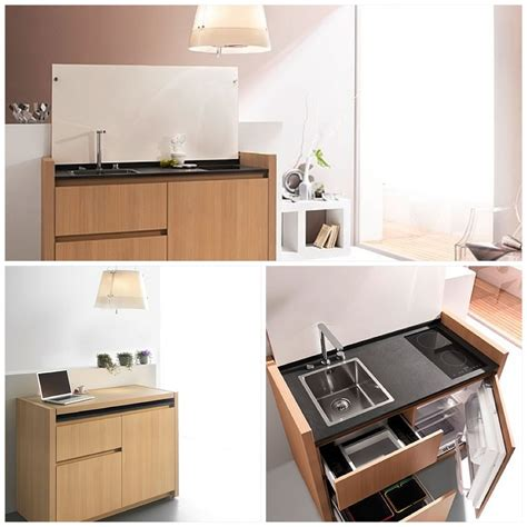 Ideas For Small Galley Kitchens - micro kitchens baths urban hobo