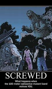 Godzilla funny, Godzilla comics, Godzilla
