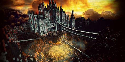 herobrines castle   piece   series  builds