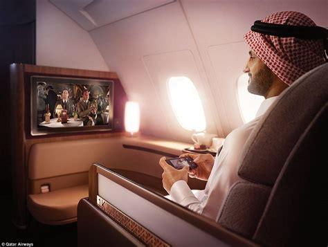 qatar airways   class suites   caviar